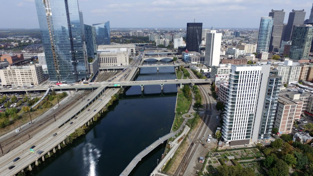 Schuylkill River from Above Schuylkill-River-Park